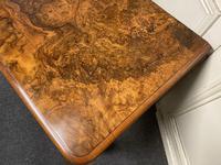 Fine Rare Burr Walnut Writing Table or Desk (18 of 20)