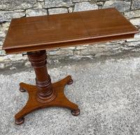 Victorian Mahogany Adjustable Reading Table by Ward (10 of 16)