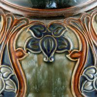 Large Royal Doulton Salt Glazed Vase (5 of 8)