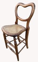 Rare Victorian Organists Chair (4 of 5)