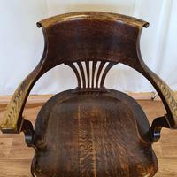Oak Desk Chair (5 of 11)