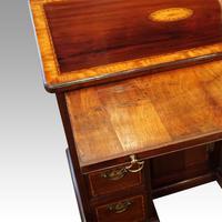 George III Inlaid Kneehole Desk (7 of 17)