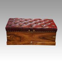 Victorian Camphor Wood Ottoman