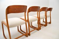 Set of 4 Danish Teak Vintage Dining Chairs 1960's (2 of 12)