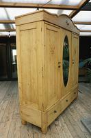 Huge! Old Pine Triple 'Knock Down' Combination Wardrobe - We Deliver! (4 of 21)