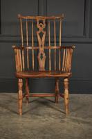 Elm Comb Back Windsor Chair (3 of 11)