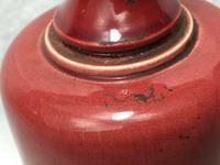 2 Fine Antique Victorian Art Nouveau Small Pottery Round Vases (2 of 8)