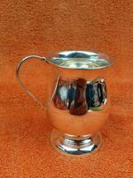 Vintage Sterling Silver Hallmarked Cup Mug 1966