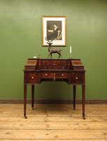 Antique 19th Century Carlton House Desk Mahogany Writing Table of Immense Character (27 of 30)