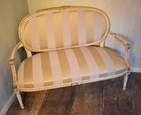 Fine Small Painted & Gilded Sofa (2 of 11)