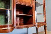 Inlaid Mahogany Display Cabinet (5 of 9)