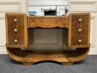 Iconic Burr Walnut Art Deco Dressing Table (6 of 22)