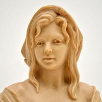 Antique Signed Bust Sculpture (3 of 7)