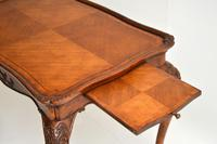 Antique French Carved Satinwood Occasional Table (10 of 12)