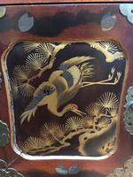Antique Oriental Lacquered Table Cabinet (11 of 11)