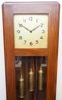 English Art Deco Longcase Clock Musical 8 Day Westminster Chime Grandfather Clock (7 of 12)