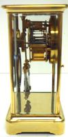 Fine  Antique French Table Regulator with Compensating Pendulum 8 Day 4 Glass Mantel Clock (6 of 11)
