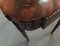 Mahogany Fold Over Table (8 of 8)