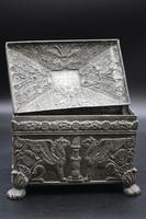 Beautifully Constructed Late 18th Century Rectangular Metal Box (3 of 6)