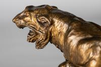 Stunning 19th Century French Bronze Sculpture of Two Tigers by E.Drouot (6 of 11)