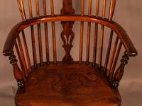Good High Back Windsor Chair c.1840 (5 of 11)