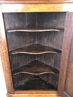 19th Century Antique Oak Corner Cupboard (3 of 8)