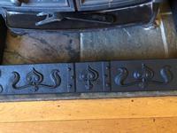 Art Nouveau Fire Fender Kerb - Cast Iron Fire Fender (5 of 10)