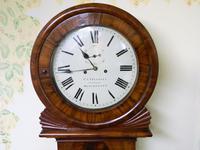 mahogany tavern clock / wall clock (4 of 6)