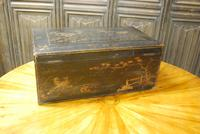 Regency Chinoiserie Japanned Box (5 of 7)