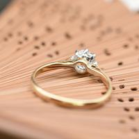 The Antique Old Brilliant Cut Diamond Solitaire Ring (4 of 4)