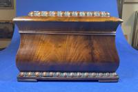 William IV Flame Mahogany Jewellery Box (9 of 20)
