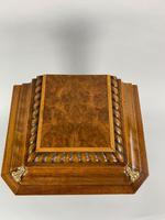 Fine Quality Burr Walnut Bracket / Mantel Clock By Lenzkirch (8 of 11)
