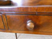 Irish Regency Mahogany Side Table (6 of 8)