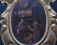 French School c1680 Nativity Oil on Canvas (7 of 9)