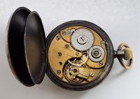 An Antique Gun Metal Omega Pocket Watch (5 of 5)