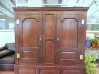 Country Oak Press Cupboard c.1730 (6 of 10)