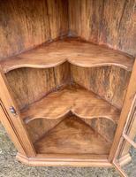 Antique Pine & Elm Hanging Corner Cupboard (9 of 11)