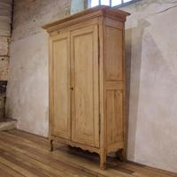 Early 19th Century French Original Painted Provincial Armoire (2 of 14)