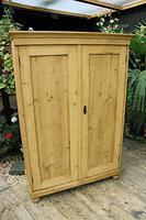 Fantastic Old Pine 2 Door Cupboard with Shelves - Linen/ Larder/ Storage / Food (5 of 10)
