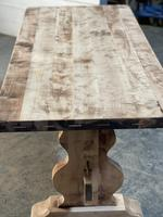 French Bleached Refectory Farmhouse Dining Table (12 of 21)