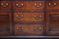 Large 18th Century Country Oak Dresser Base (9 of 9)