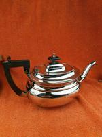 Antique EPNS Silver Plated Tea Pot c.1900