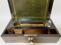 Victorian Coromandel Writing Slope Box (7 of 17)