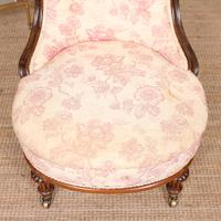 Tub Chair Carved Mahogany 19th Century (3 of 10)