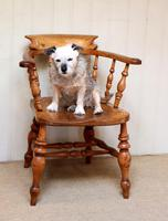 Elm And Beech Smokers Bow Armchair (6 of 10)