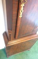 Fine English Longcase Clock Glover of Manchester 8-day Grandfather Clock Solid Oak Case (12 of 14)