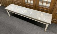 Large 19th Century French Zinc Top Table (3 of 13)