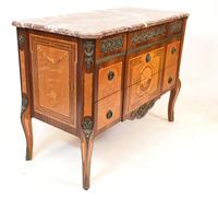 Scandinavian Commode Marquetry Chest of Drawers c.1920 (9 of 15)