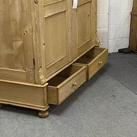 Very Large Antique Pine Wardrobe - dismantles (j0400f) (6 of 6)