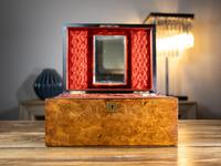 Burr Walnut Ladies/Jewellery Box 1870 (6 of 9)